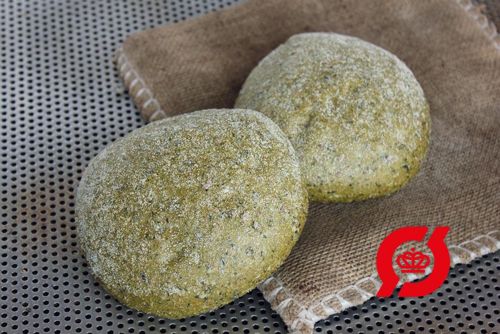 Økologisk Veganerbolle med spinat og matcha