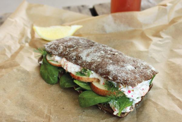 Sandwichbrød Ciabatta Durum Grov