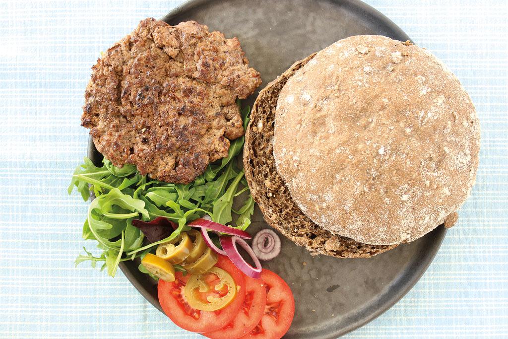 Burgerbolle Fuldkorn - Miss Bagel