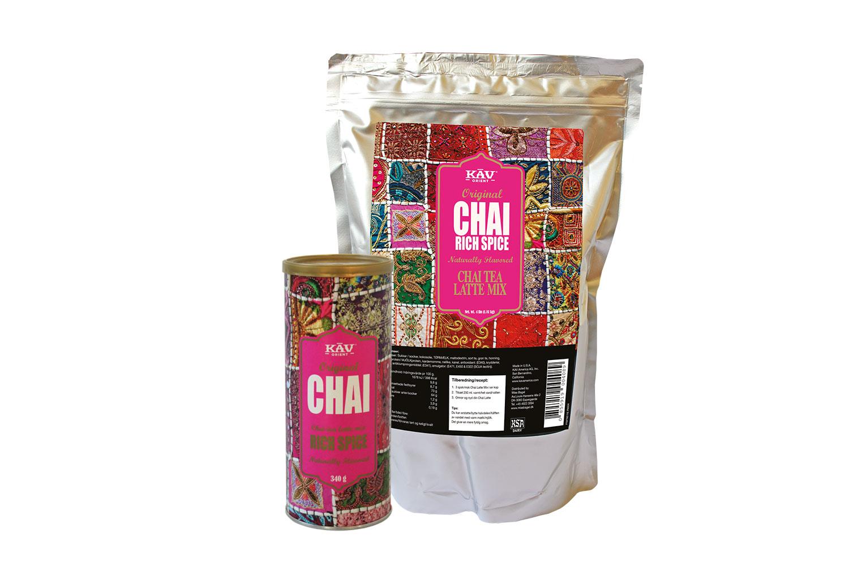 Rich Spice Chai fra KAV