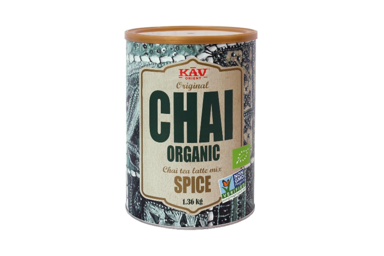 Økologisk Chai mix fra amerikanske KAV