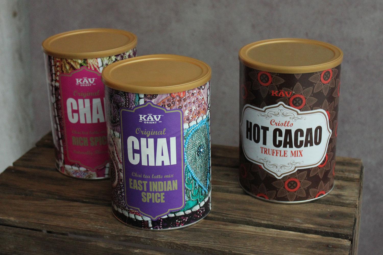 Chai Latte Mix og Kakao Mix