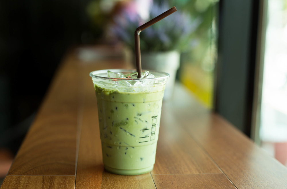 Macha Latte kold