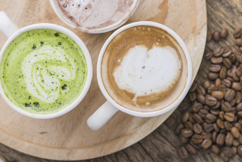 Macha Latte HotDrinks