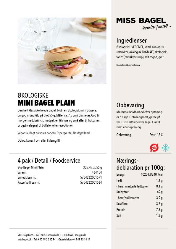 Datablade_øko mini plain