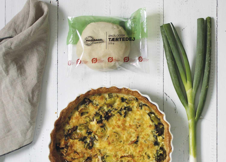 Færdiglavet tærtedej økologisk