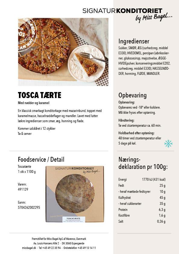 Tosca tærte