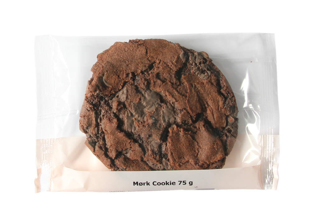 Amerikansk cookie indpakket