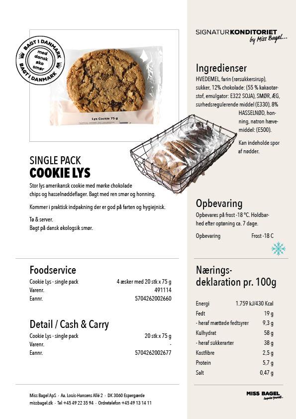 Cookie Lys Single Pack